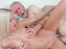 old-n-young.com pornstars blonde young&old rubbing oral sucking blowjob smalltits doggystyle