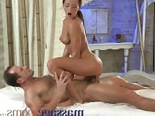 massagerooms.com hd brunette cock-sucking petite slim cowgirl hand-job bald-pussy cumshot